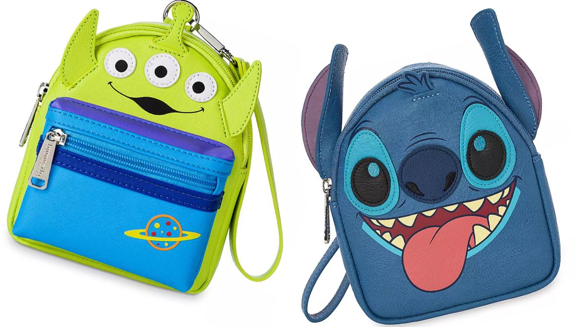 Stitch and Alien Wristlets