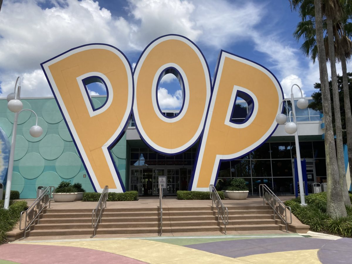 pop century resort sign exterior