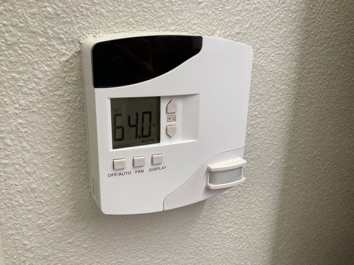 pop century resort room thermostat