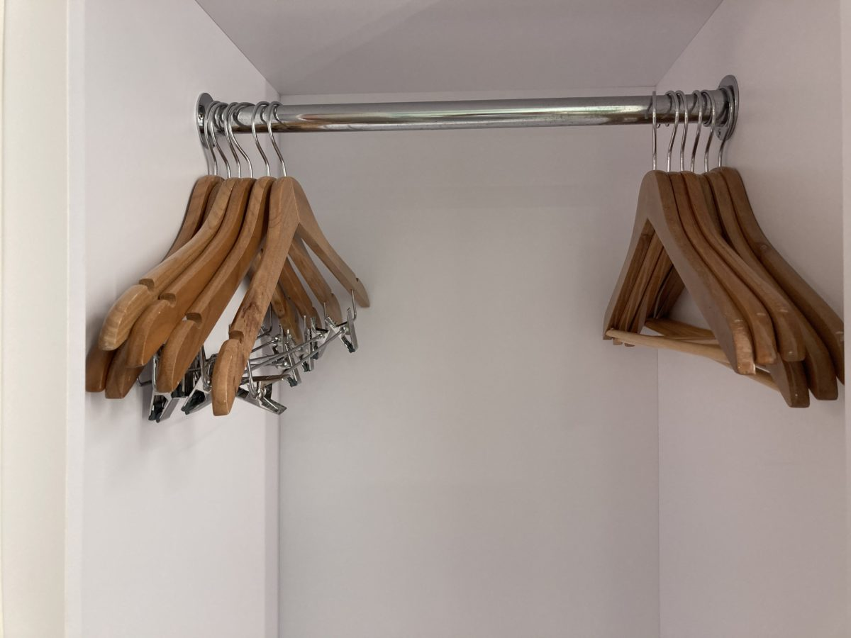 pop century resort room closet hangers