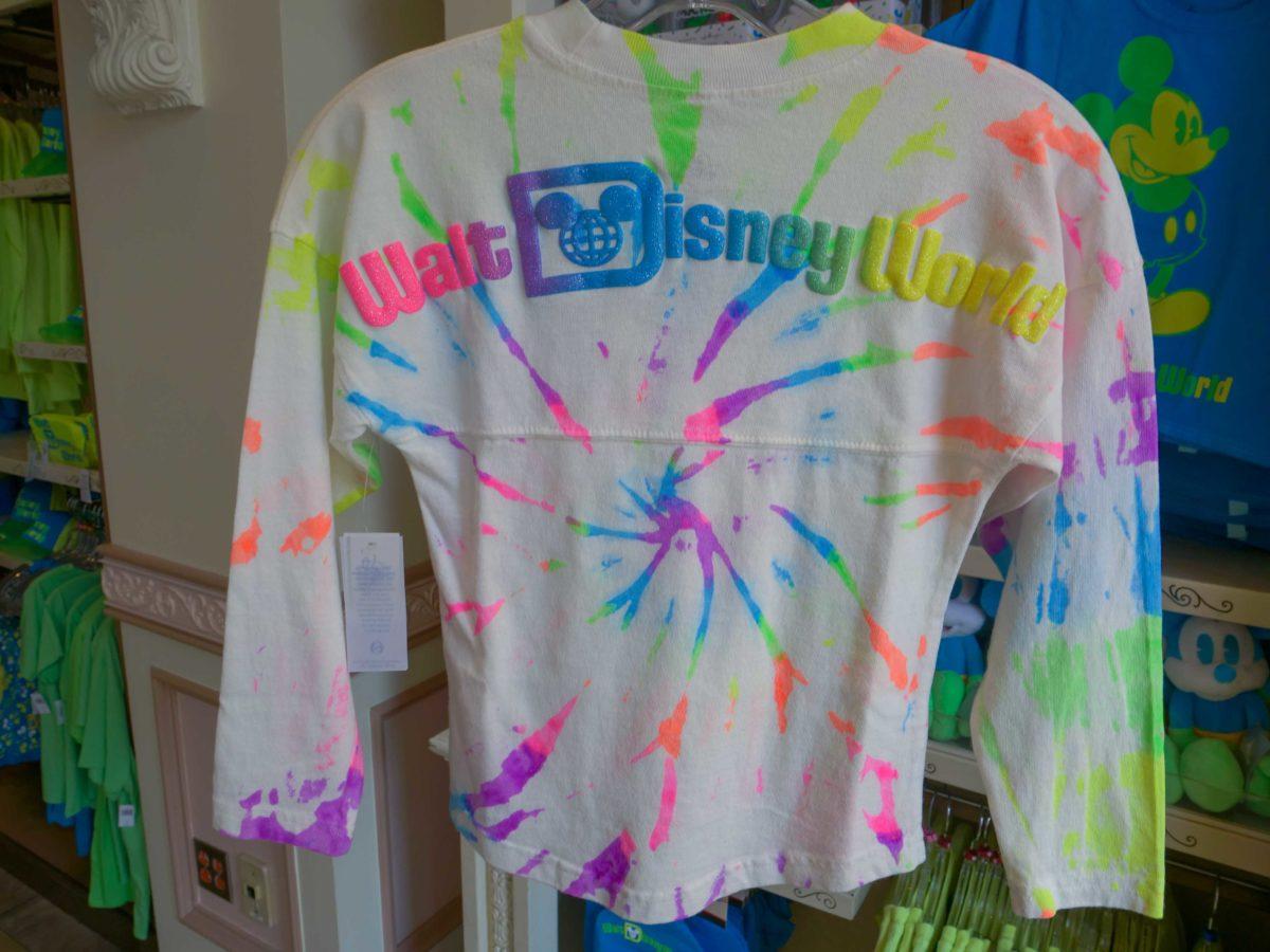youth tie dye spirit jersey