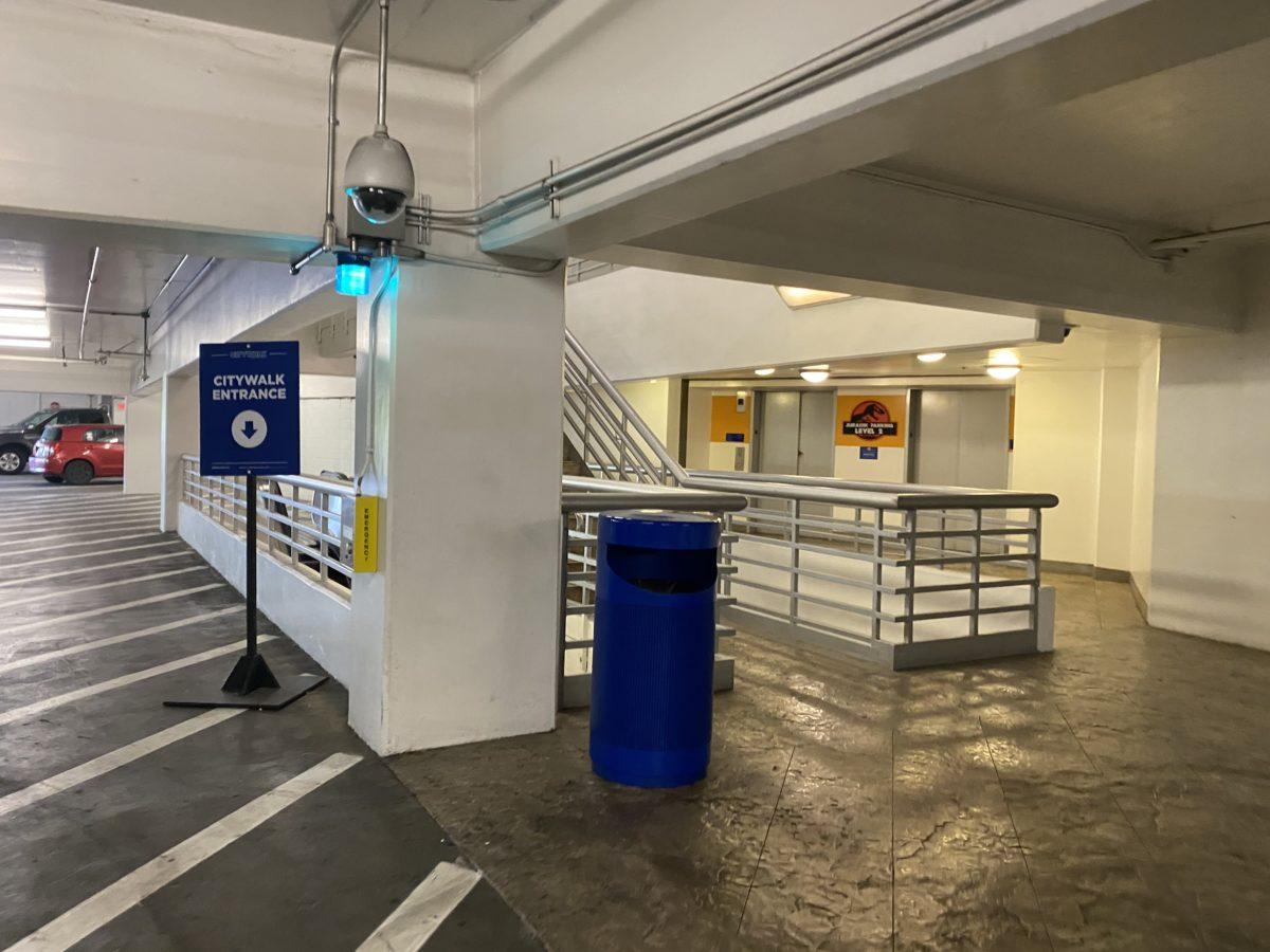 Universal Hollywood Garage