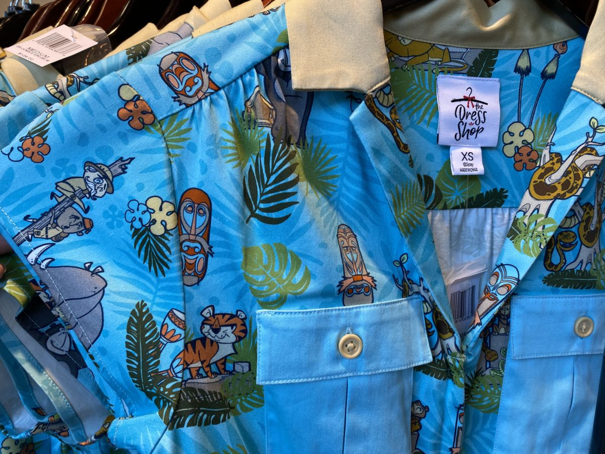 Jungle Cruise Dress Disneyland
