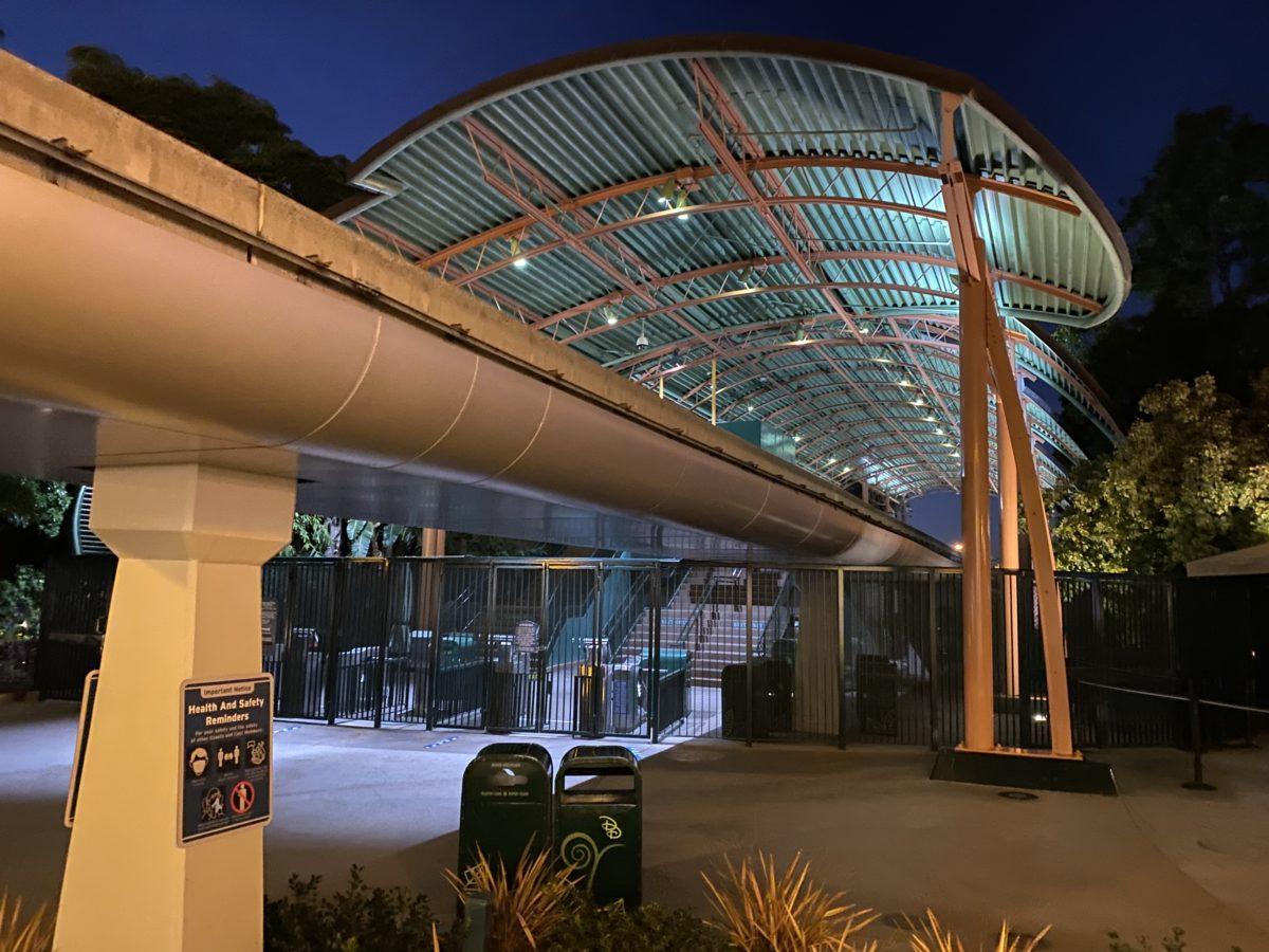 Disneyland Monorail Station