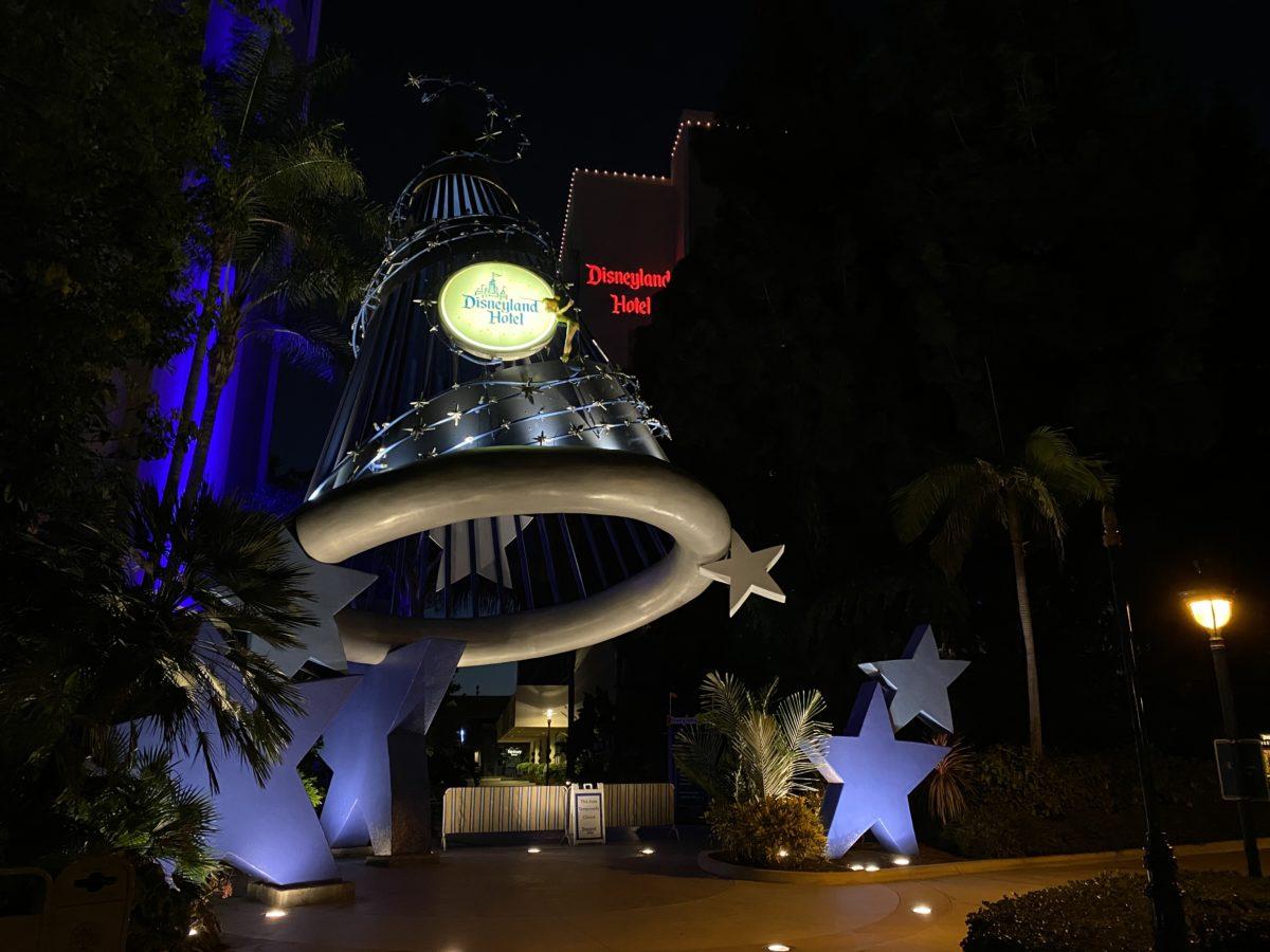 Disneyland Hotel Lights