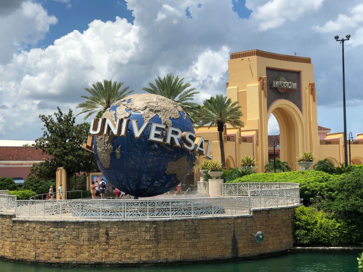 Universal Studios Florida arch and globe