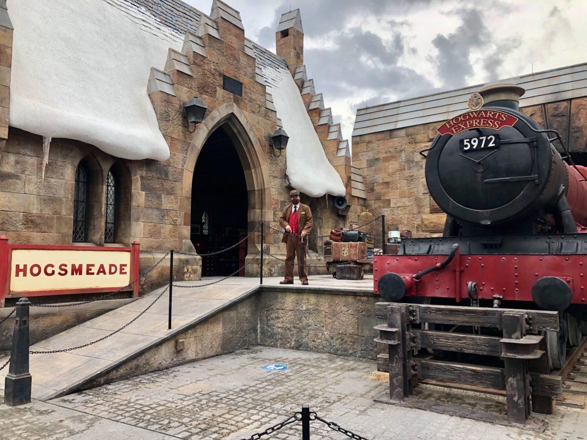 Hogsmeade Station Hogwarts Express Station Master
