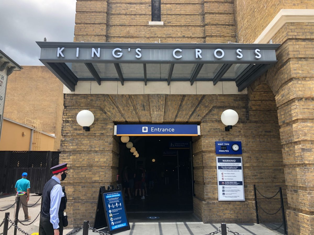 King's Cross Entrance