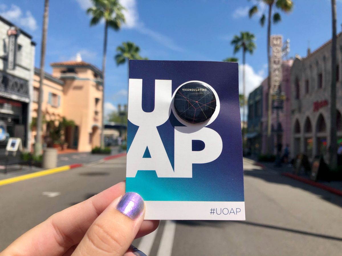 UOAP Universal Orlando Passholder Button The Bourne Stuntacular