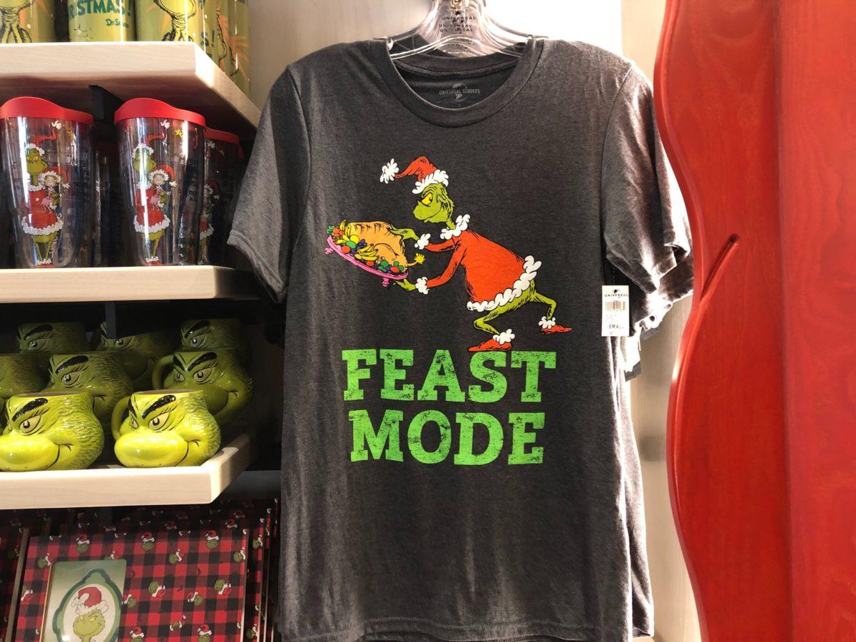 Grinch Feast Mode t shirt