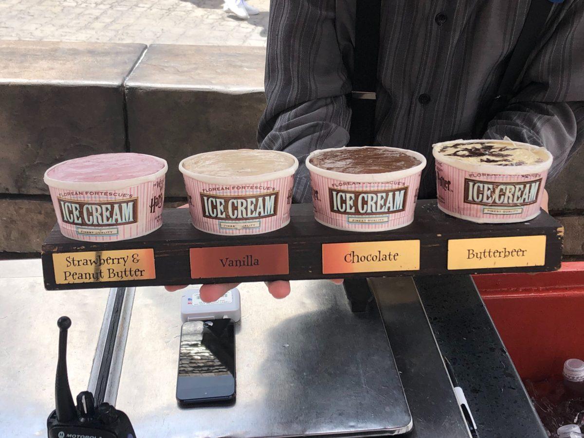 Hogsmeade Ice Cream
