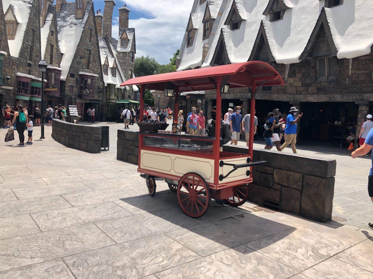 Ice Cream Cart in Hogsmeade
