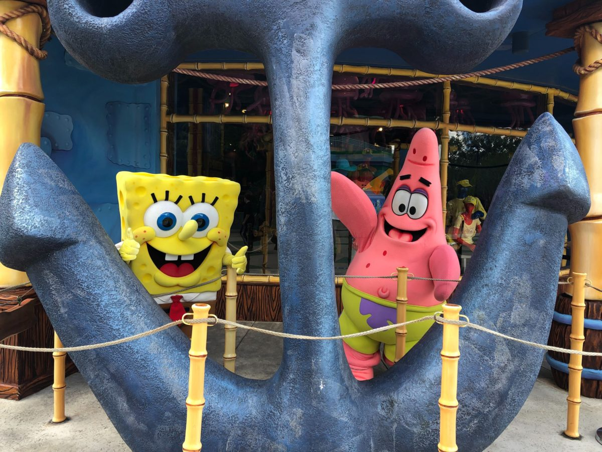 Spongebob and Patrick Characters