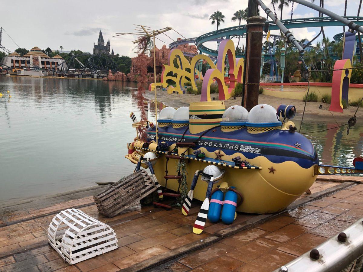 Islands of Adventure Submarine on the Lagoon