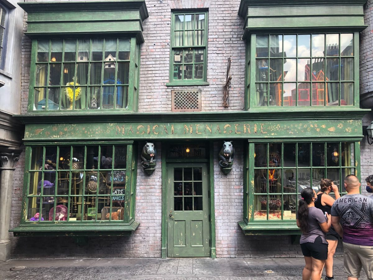 Magical Menagerie Diagon Alley Universal Studios Florida