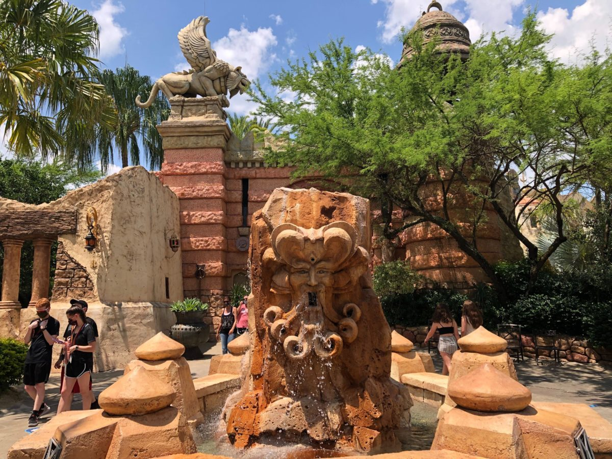Mystic Fountain Lost Continent Universal Orlando Resort Islands of Adventure