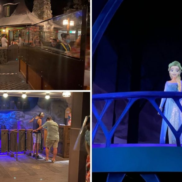 frozen ever after reopens