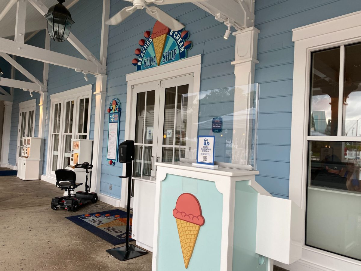 Beaches & Cream Soda Shop at Disney's Boardwalk Inn