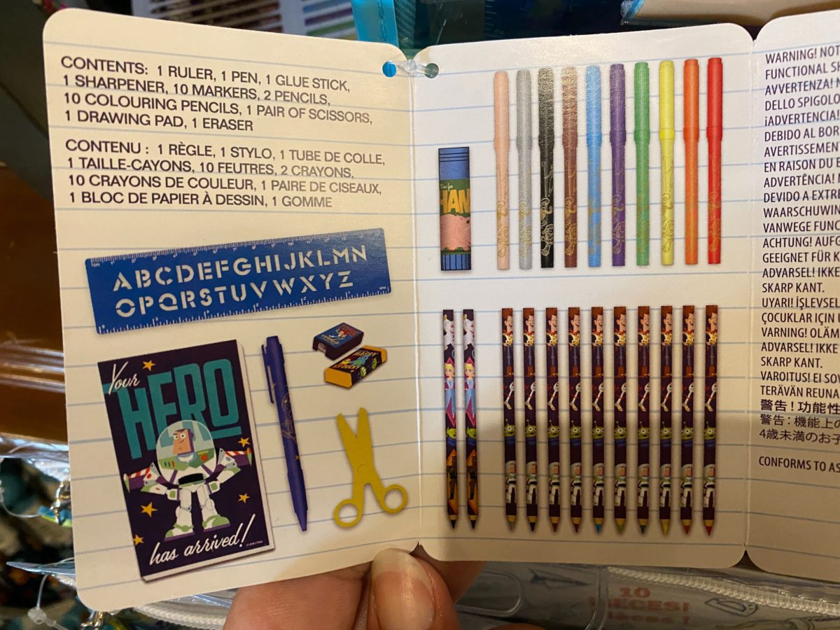 Buzz Lightyear Stationery Kit - $24.99