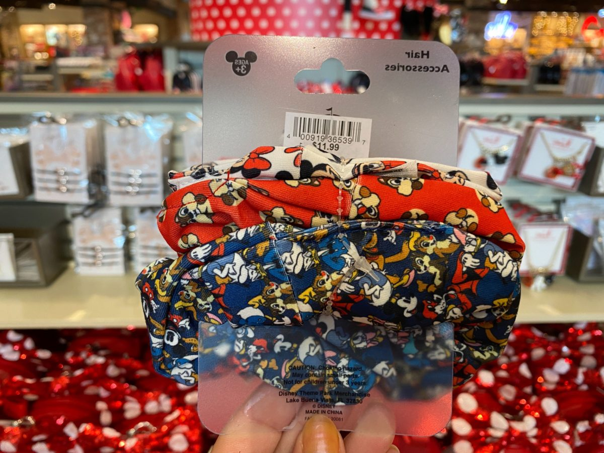 Classic Disney Character Scrunchies - $11.99