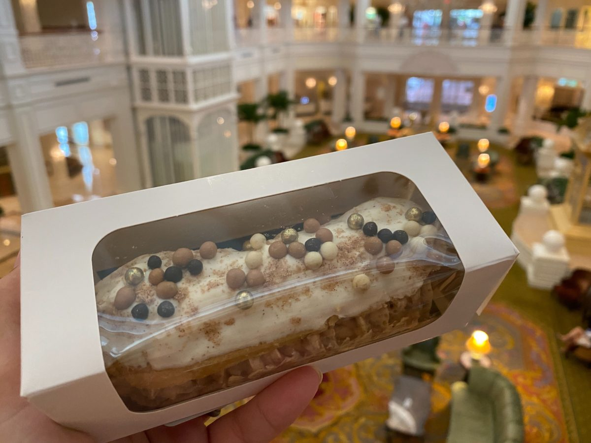 Churro Eclair at Disney's Grand Floridian Resort & Spa
