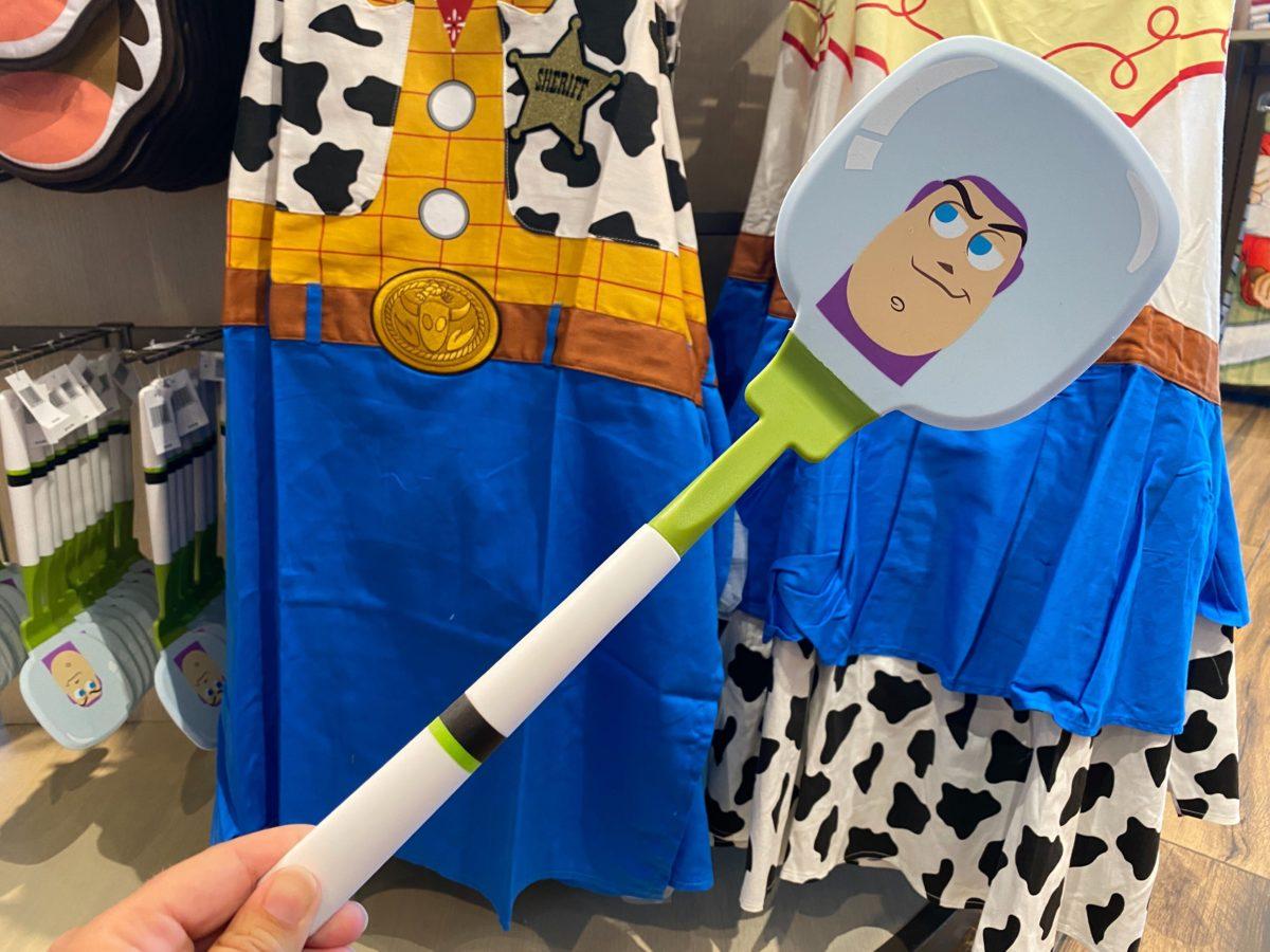 toy story beauty beast cinderella spatulas
