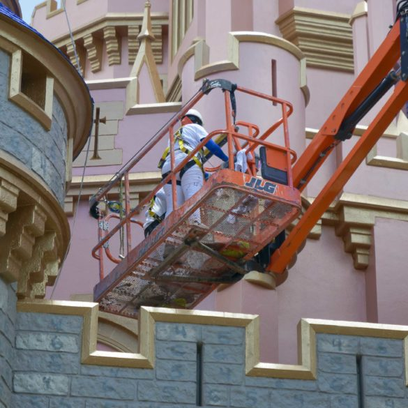 cinderella's castle paint by numbers