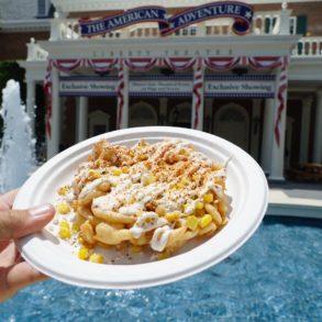 corn funnel cake epcot taste fest