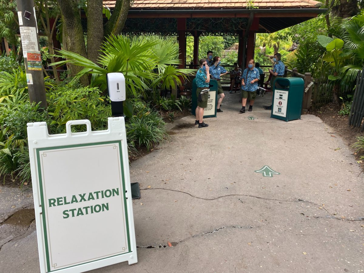 relaxation station asia animal kingdom