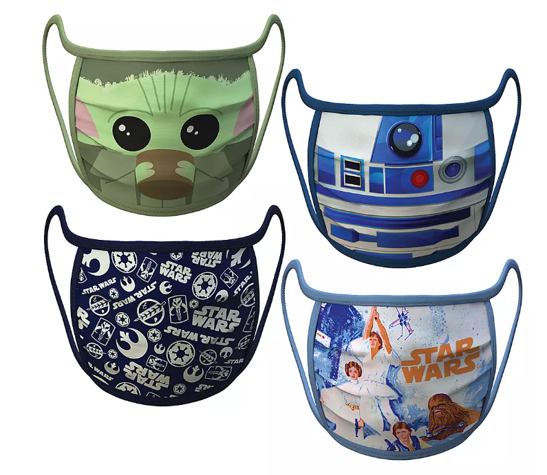 Adult Extra Large – Star Wars Cloth Face Masks 4-Pack Set – Pre-Order - $19.99