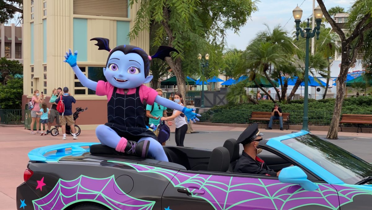Disney Junior Stars Motorcade