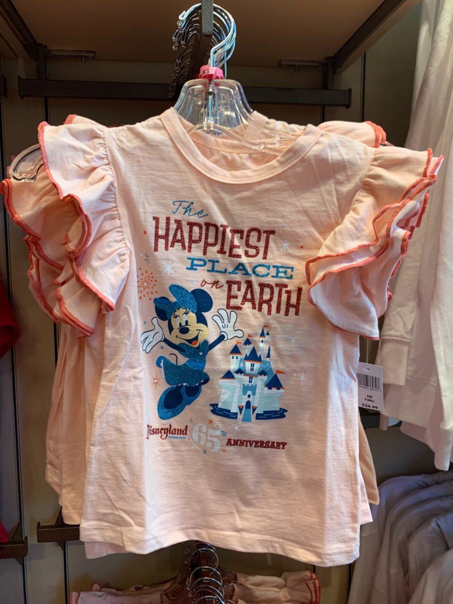 Minnie Disneyland 65th Youth Shirt - $24.99