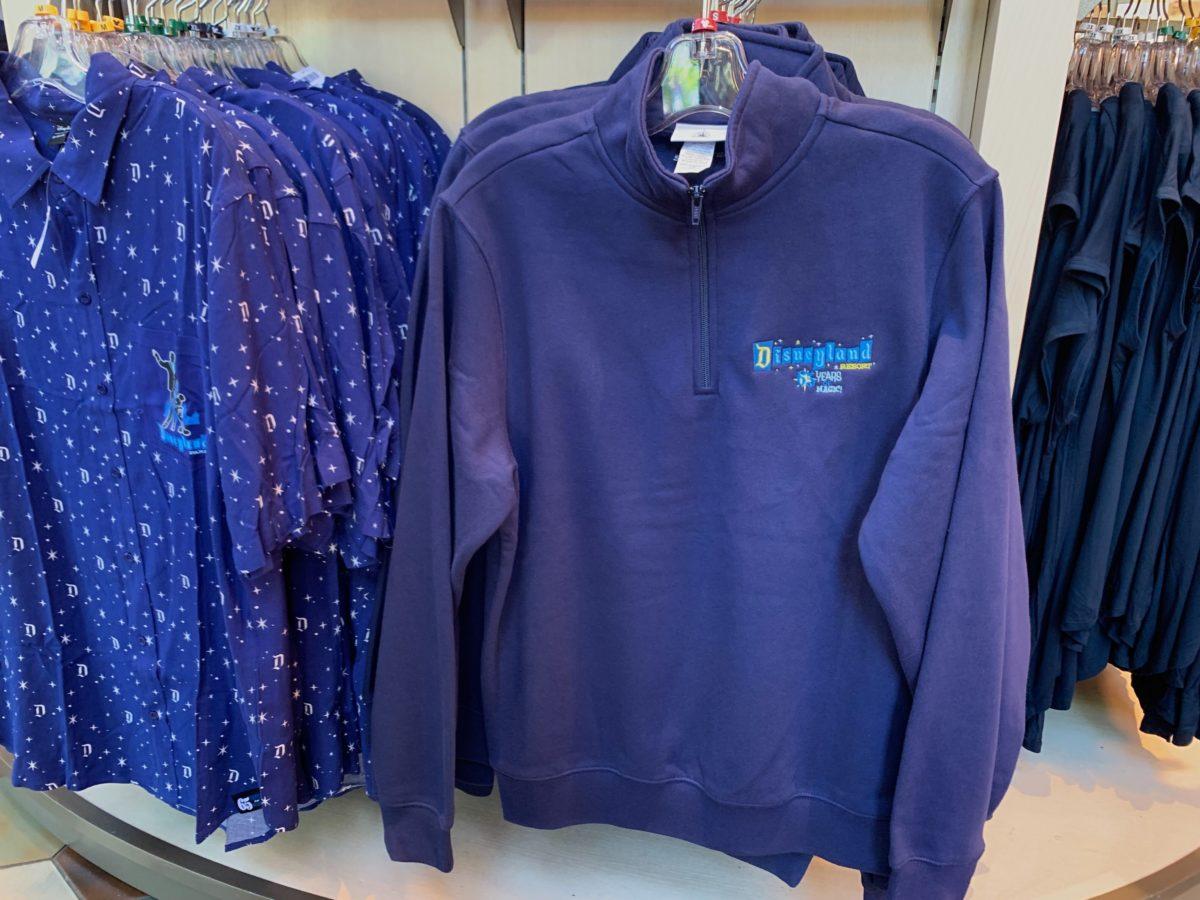 Disneyland 65th Quarter-Zip Sweatshirt - $64.99