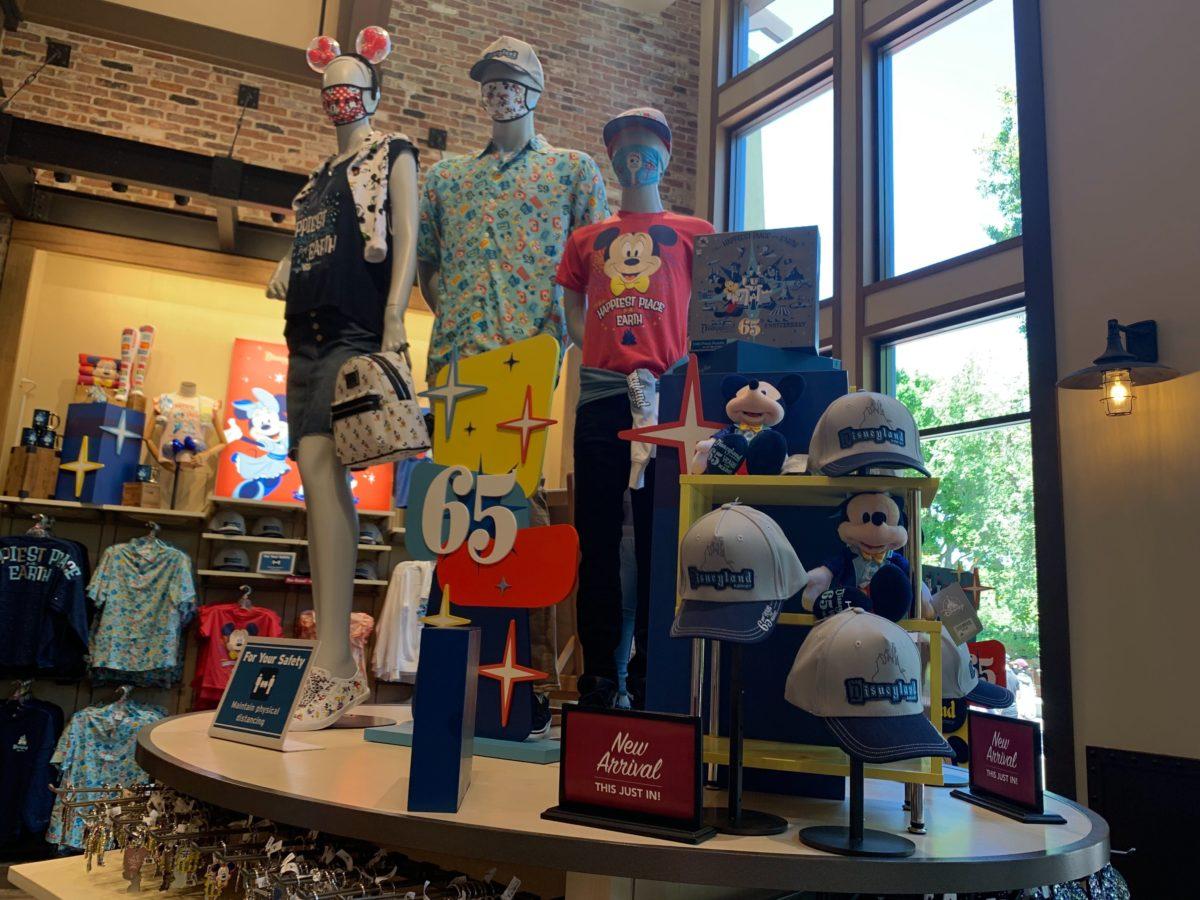 Disneyland 65th Anniversary Merchandise Collection