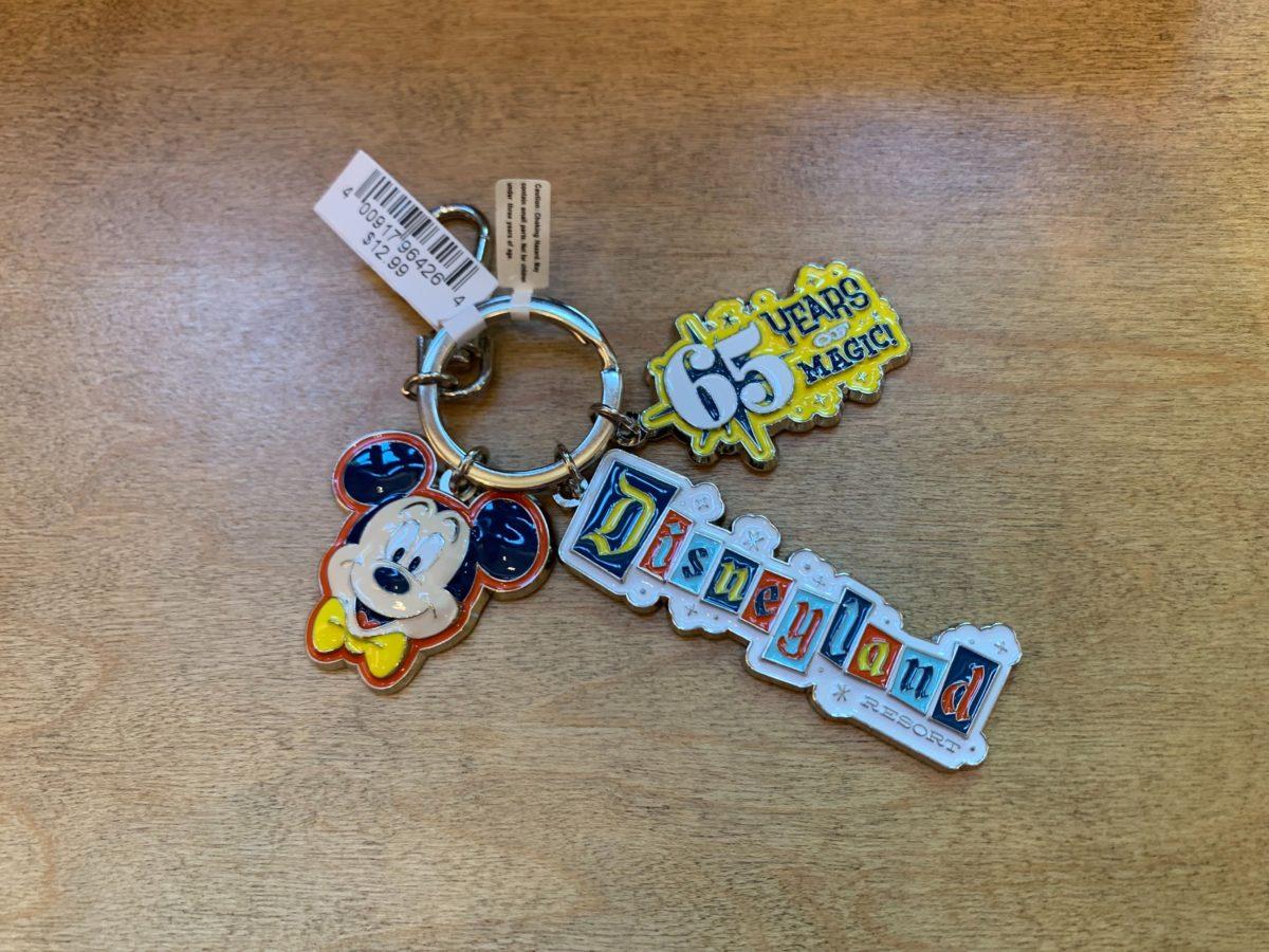 Disneyland 65th Keychain - $12.99