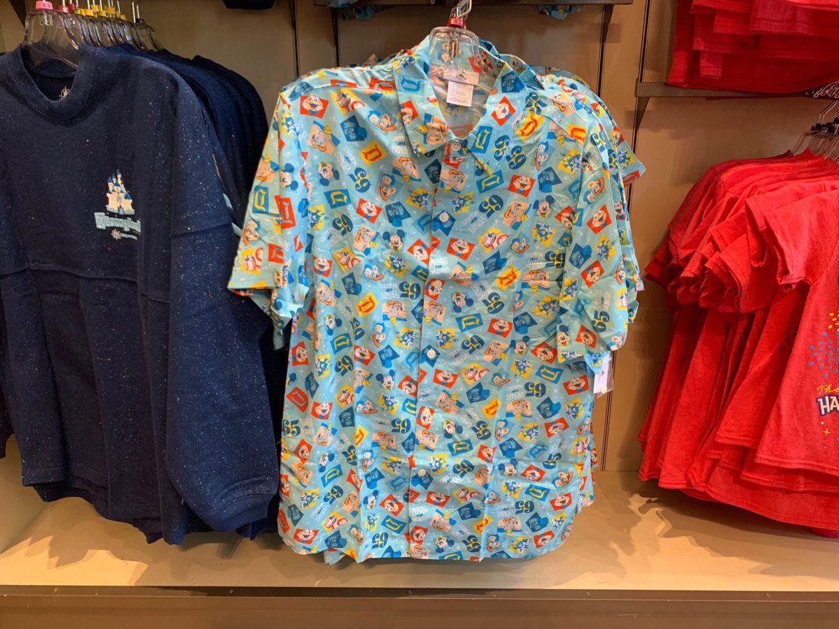 Disneyland 65th Graphic Button-Down Shirt - $64.99