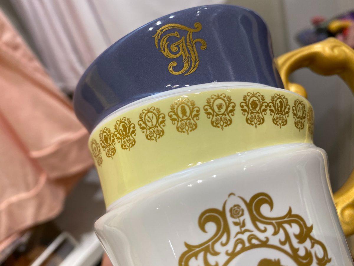 Grand Floridian Beauty and the Beast Tea Cup Mug - $22.99