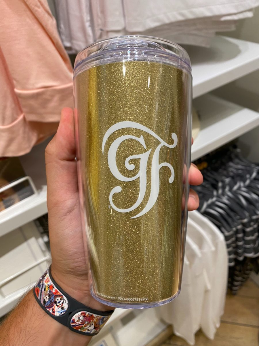 Grand Floridian Beauty and the Beast Travel Tumbler - $19.99