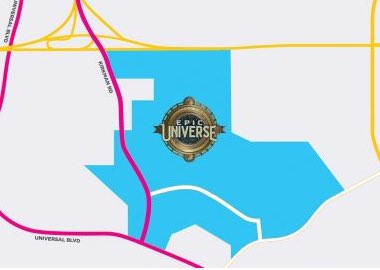 Universal's Epic Universe Location