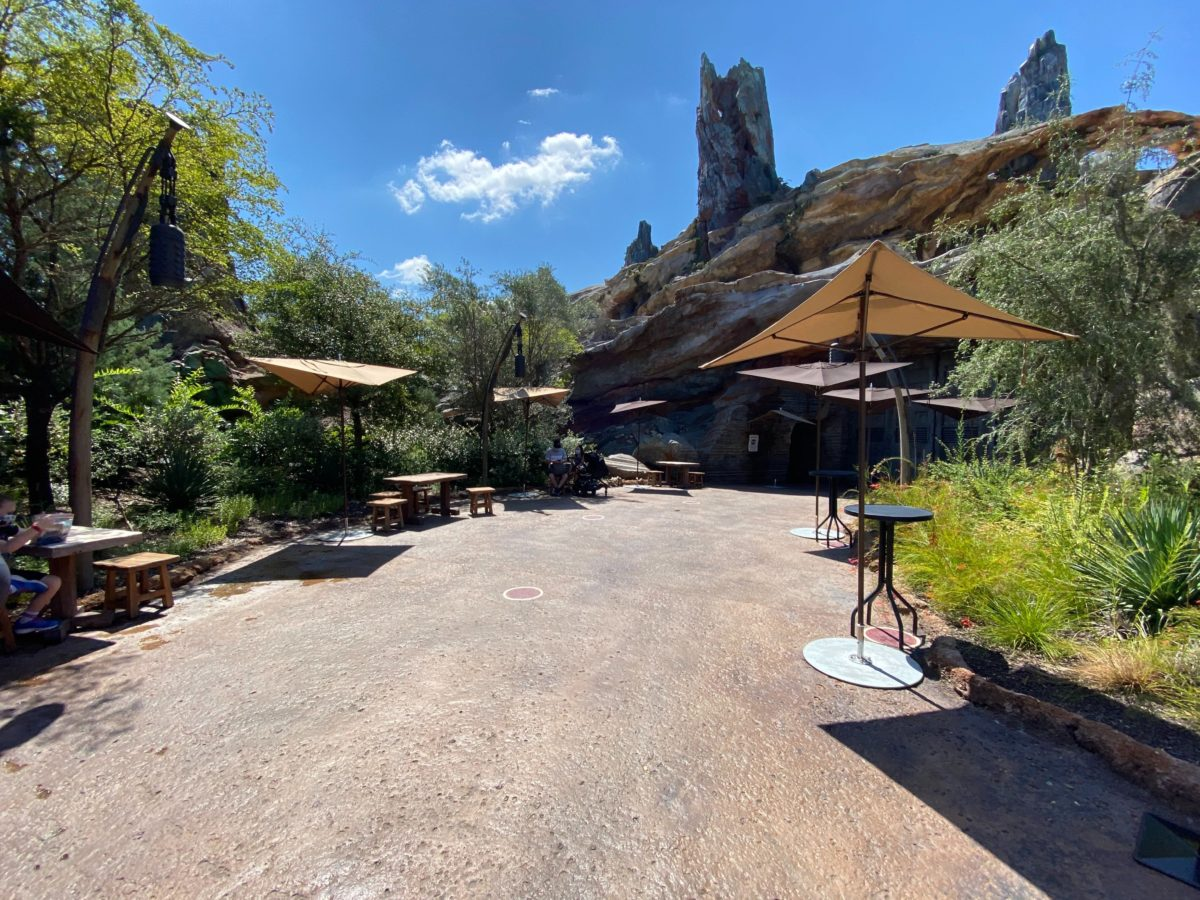 galaxy's edge relaxation station