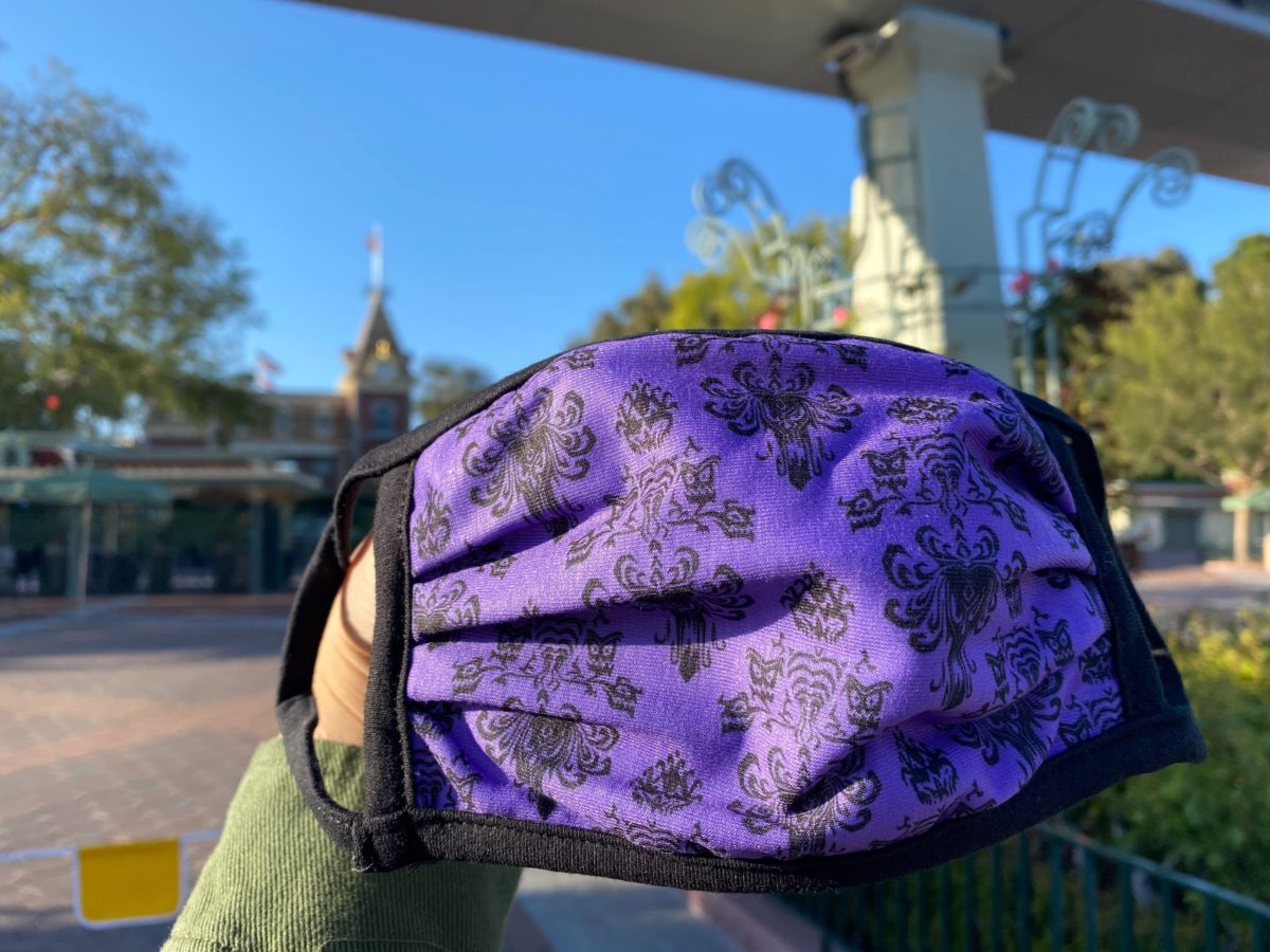 Haunted Mansion Face Masks - $6.00