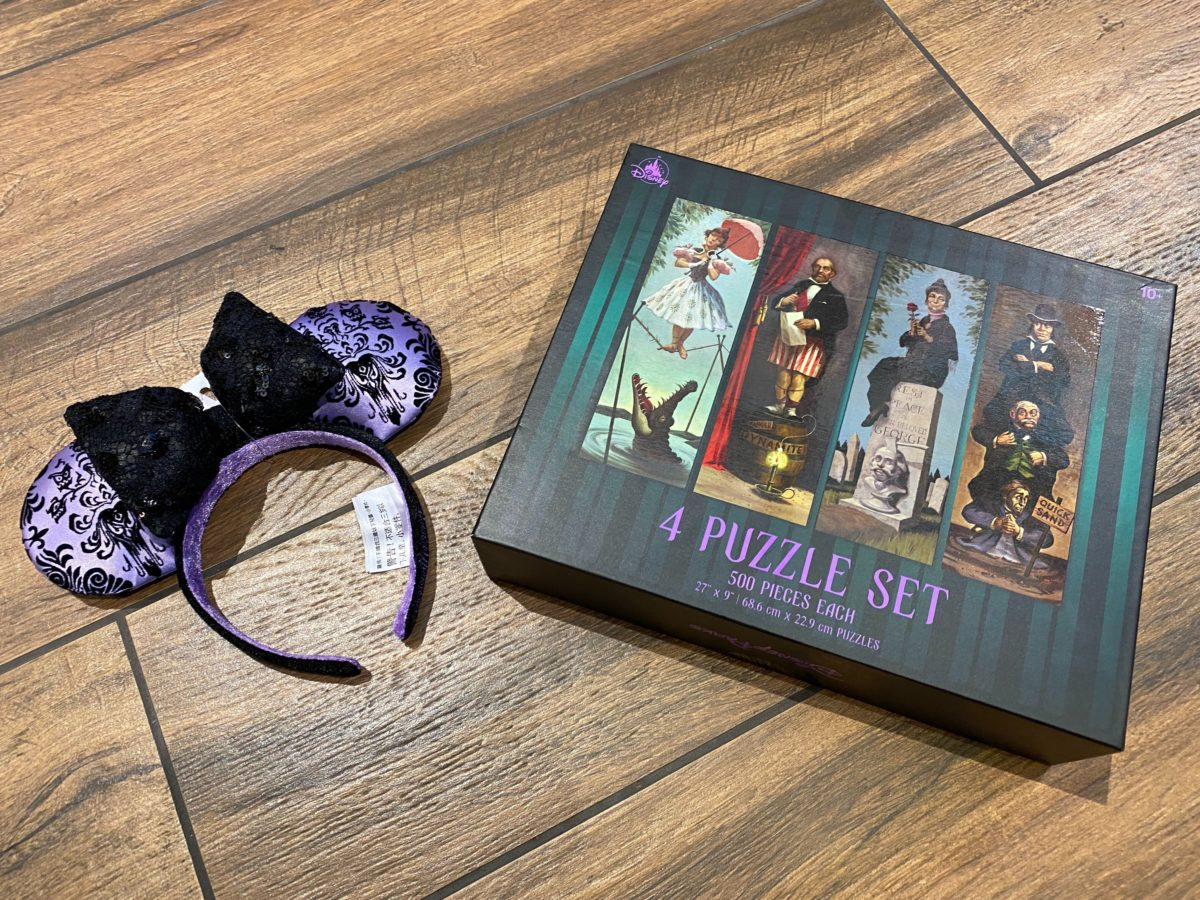 haunted mansion stretching room portrait puzzle
