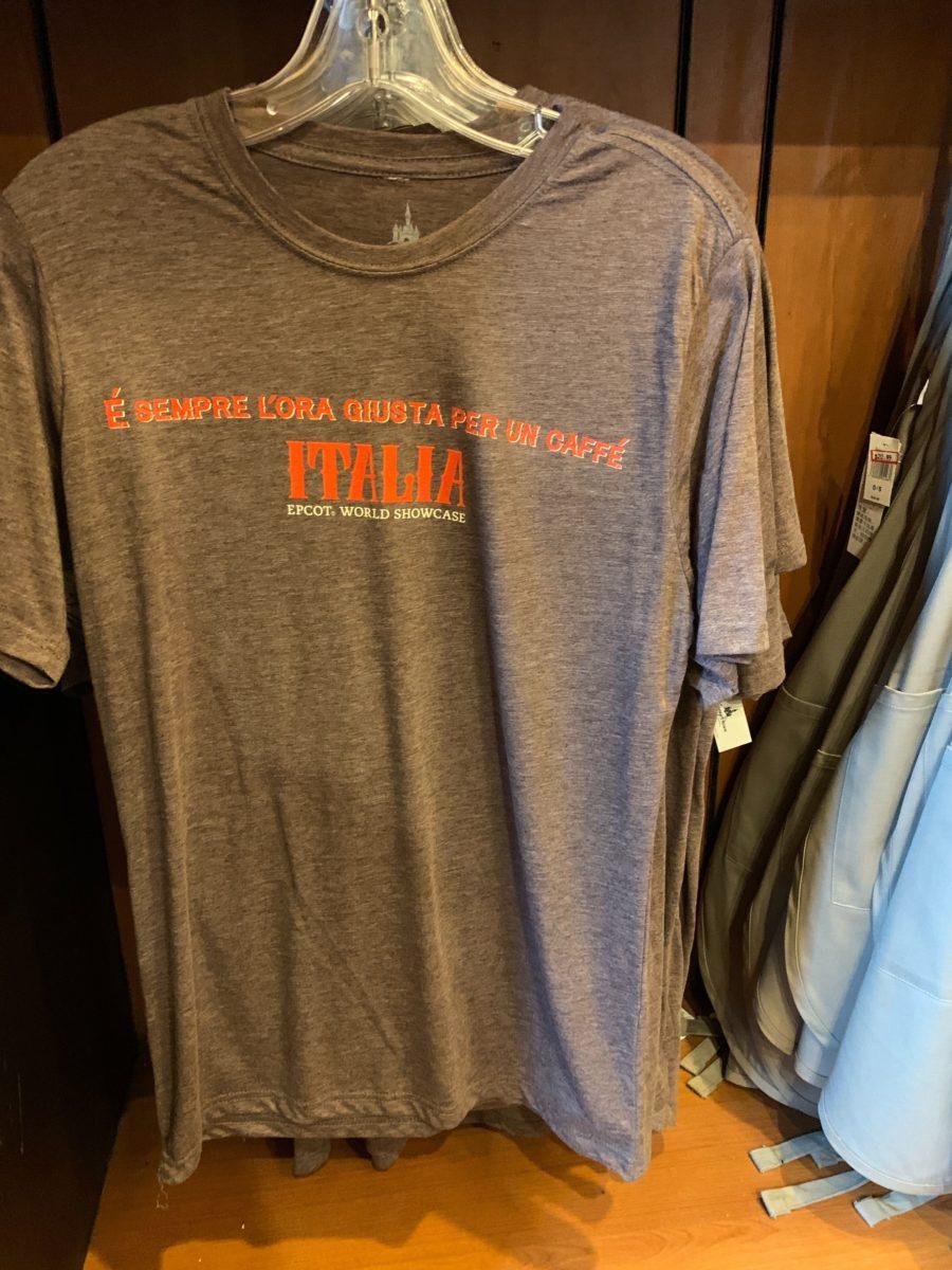 Italia World Showcase T-Shirt - $17.49