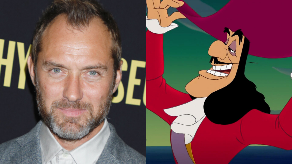 Jude Law Is Captain Hook in Disney's Peter Pan Remake