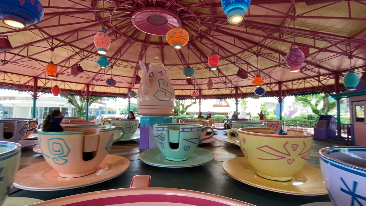 mad tea party reopening