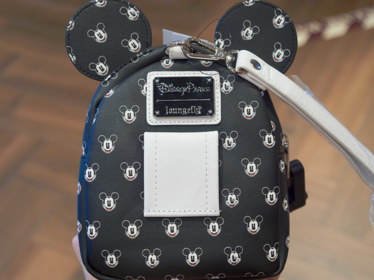 mickey classic ear loungefly wristlet