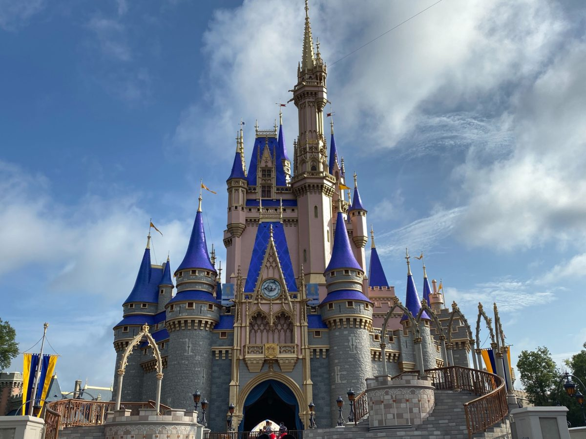 magic kingdom castle cinderella reopening day
