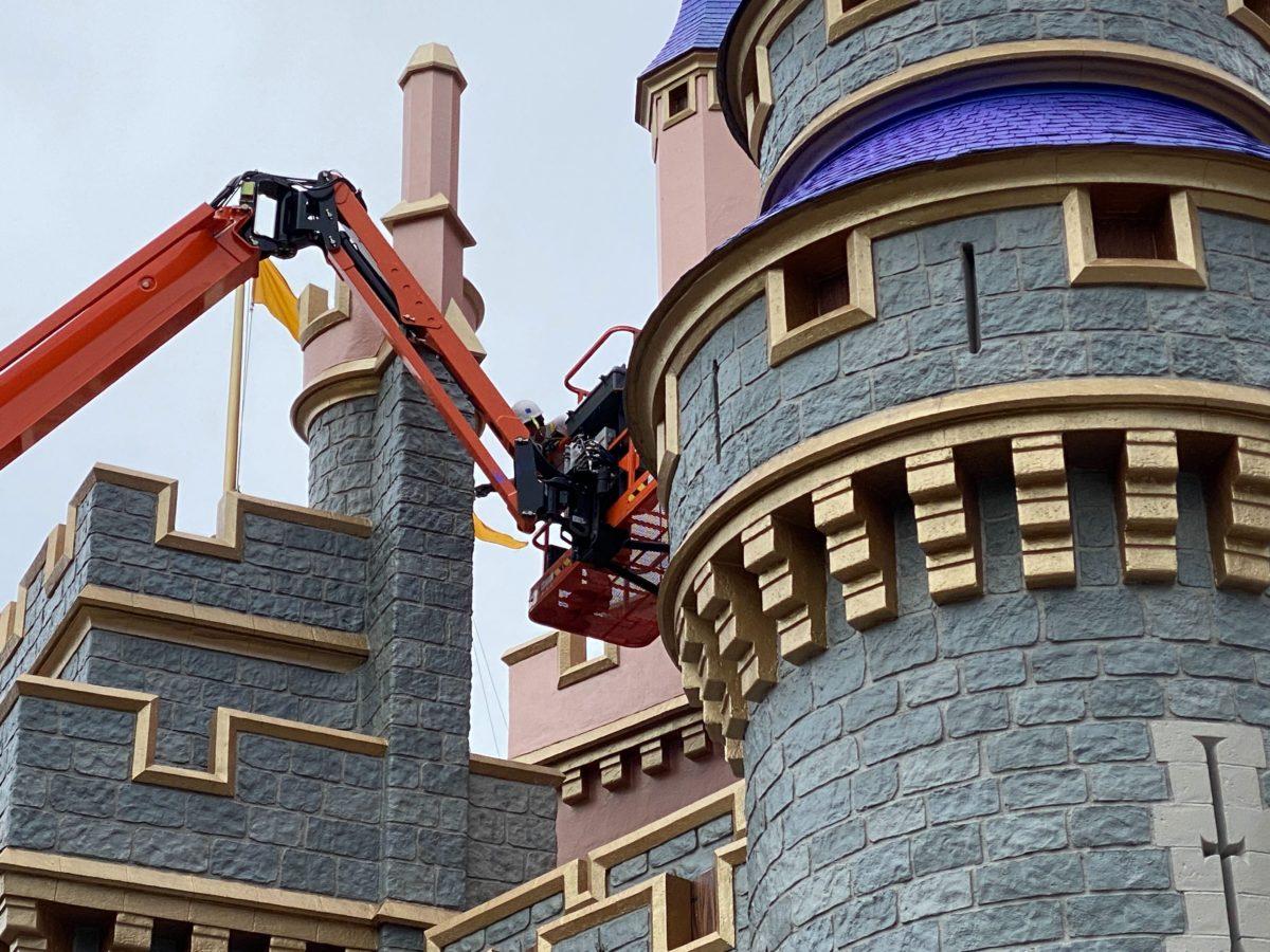 castle repainting