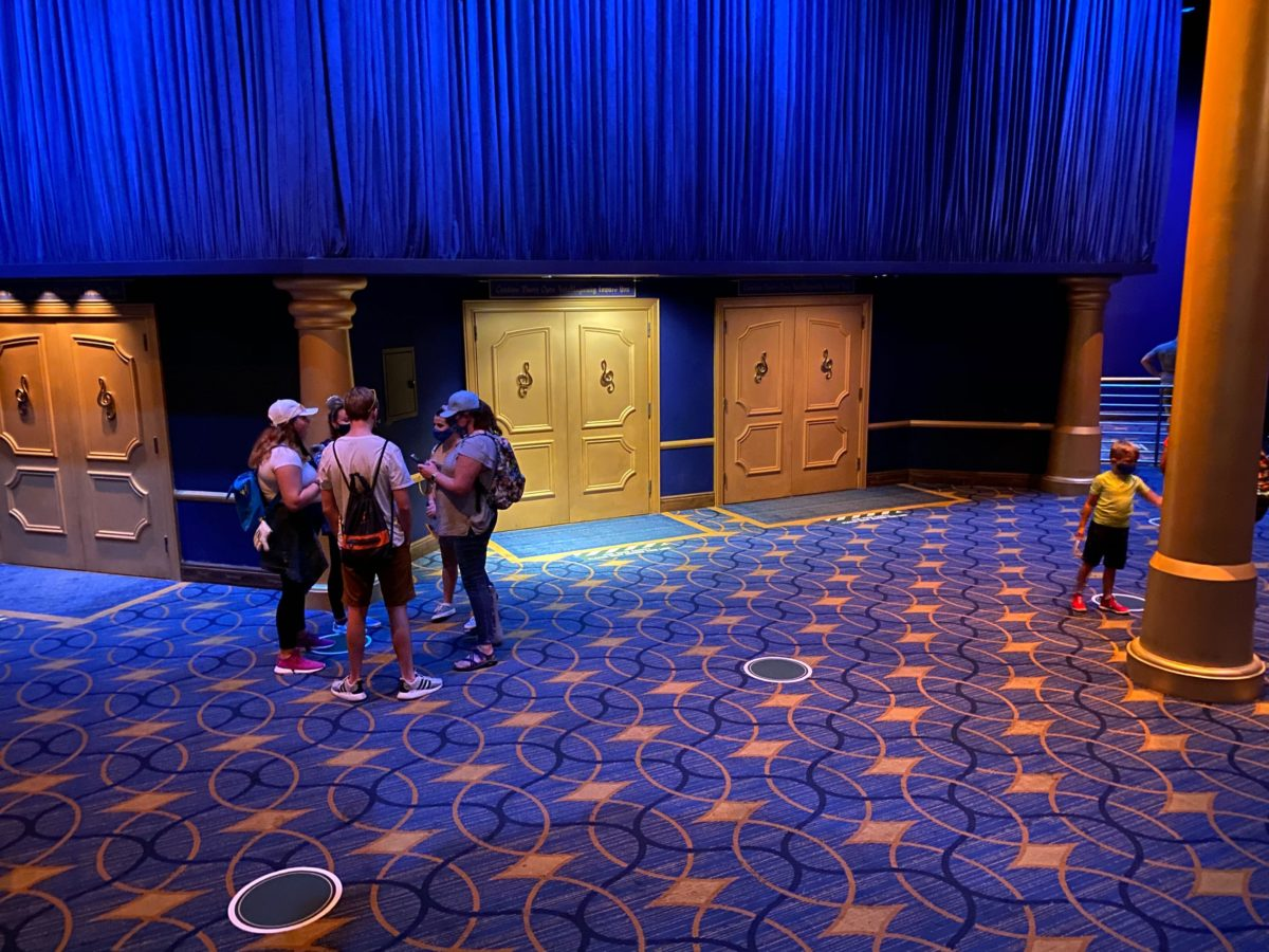mickey's philharmagic reopening
