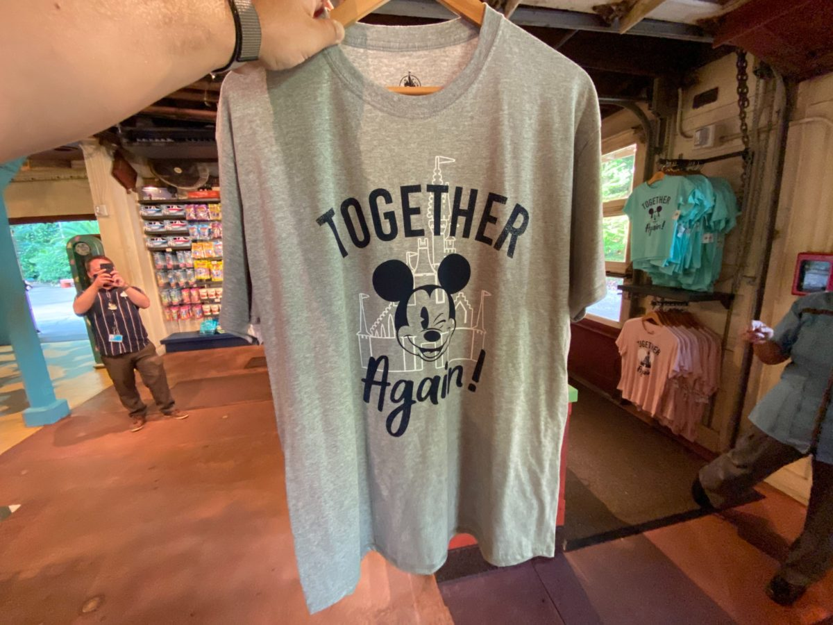 New 2020 Together Again Disney Parks Reopening Mickey Mouse T Shirt XXL Unisex